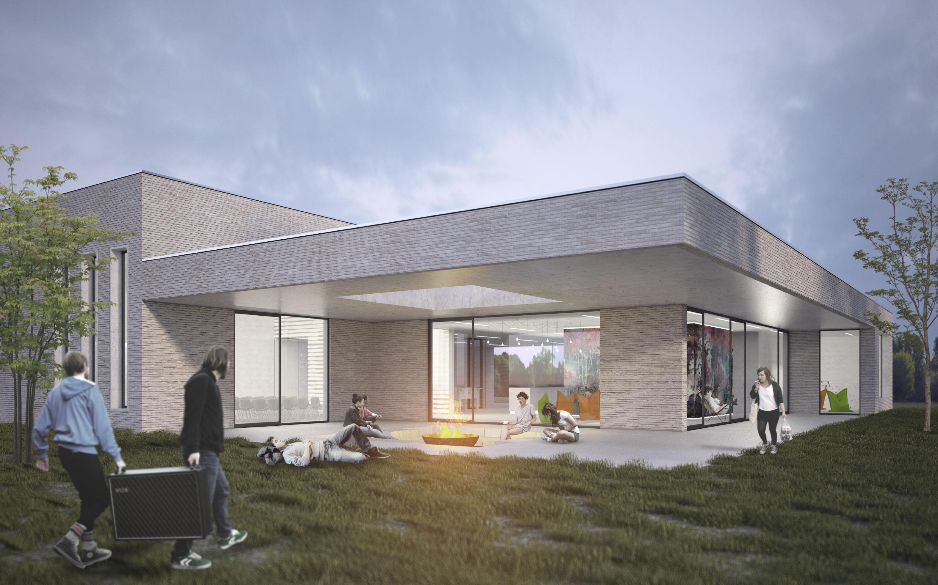 Jugendzentrum meppen architekt alh user for Architekt voraussetzungen